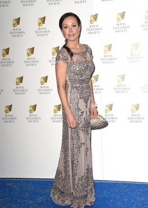 Amanda Mealing - Royal Television Society Programme Awards 2015 in London