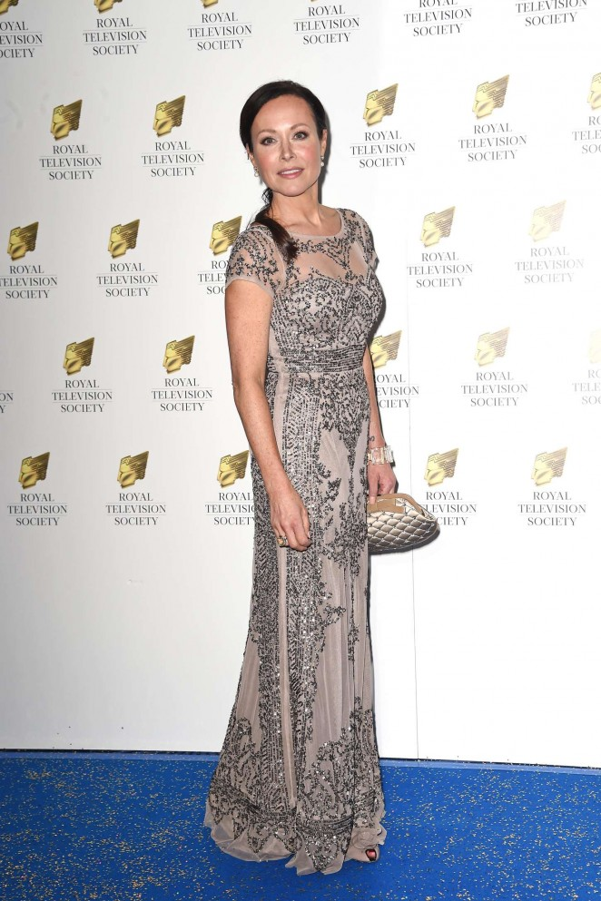 Amanda Mealing - Royal Television Society Programme Awards 2015 in London