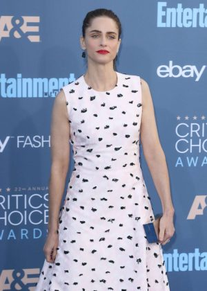 Amanda Peet - 22nd Annual Critics' Choice Awards in Los Angeles