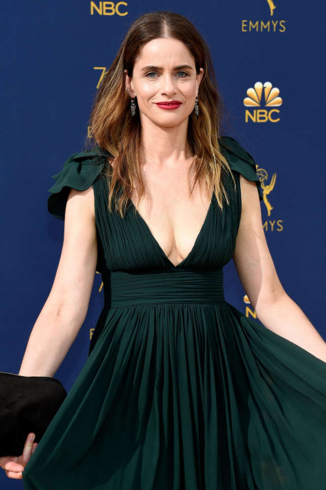 Amanda Peet - 2018 Emmy Awards in LA
