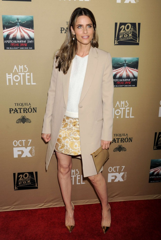 Amanda Peet - 'American Horror Story: Hotel' Screening in LA