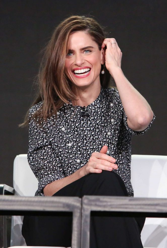 Amanda Peet - 'Brockmire' Panel at TCA Winter Press Tour 2017 in Pasadena