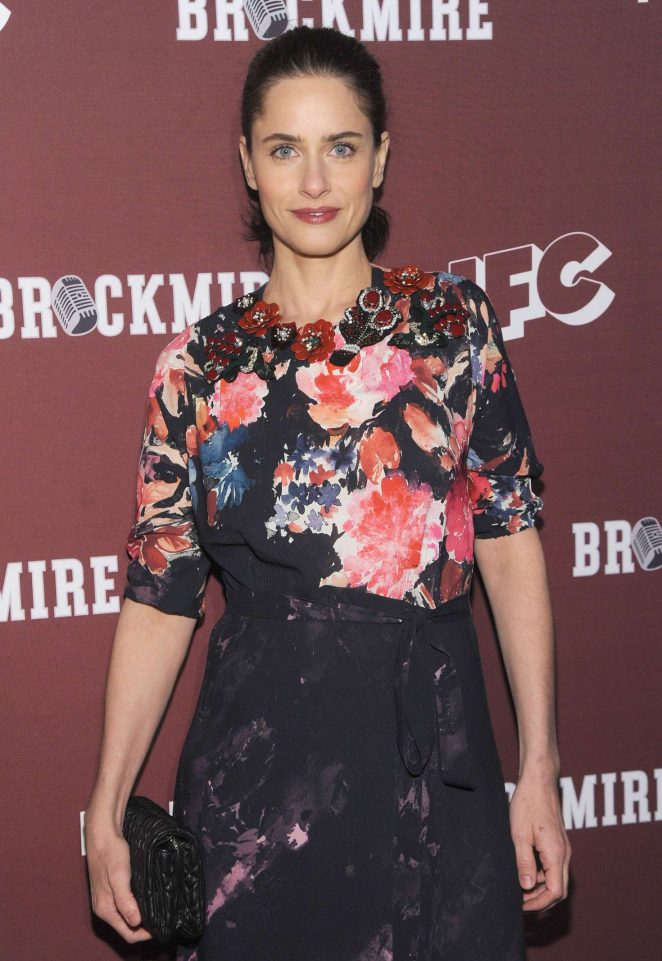 Amanda Peet - 'Brockmire' TV Series Screening in NY
