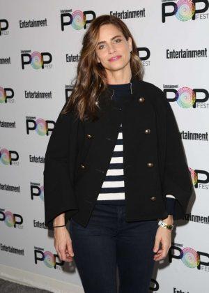 Amanda Peet - Entertainment Weekly PopFest in Los Angeles