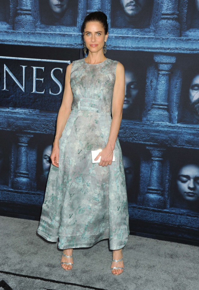 Amanda Peet: Game of Thrones Season 6 Premiere -14 - GotCeleb