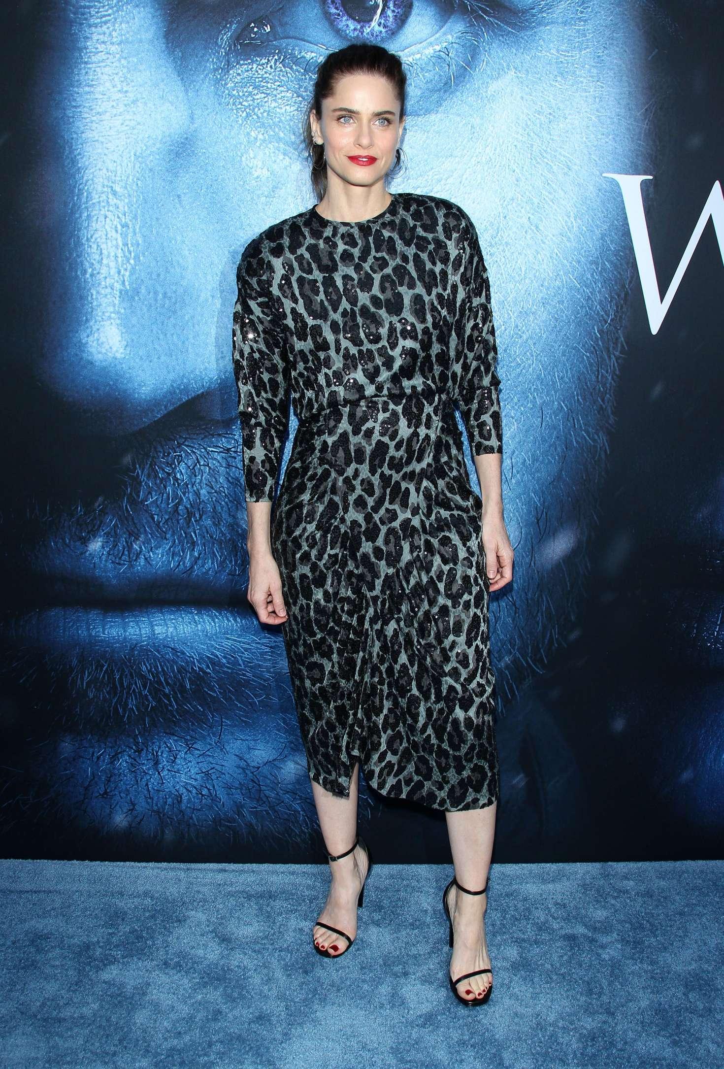Amanda Peet: Game Of Thrones Season 7 Premiere -05 | GotCeleb