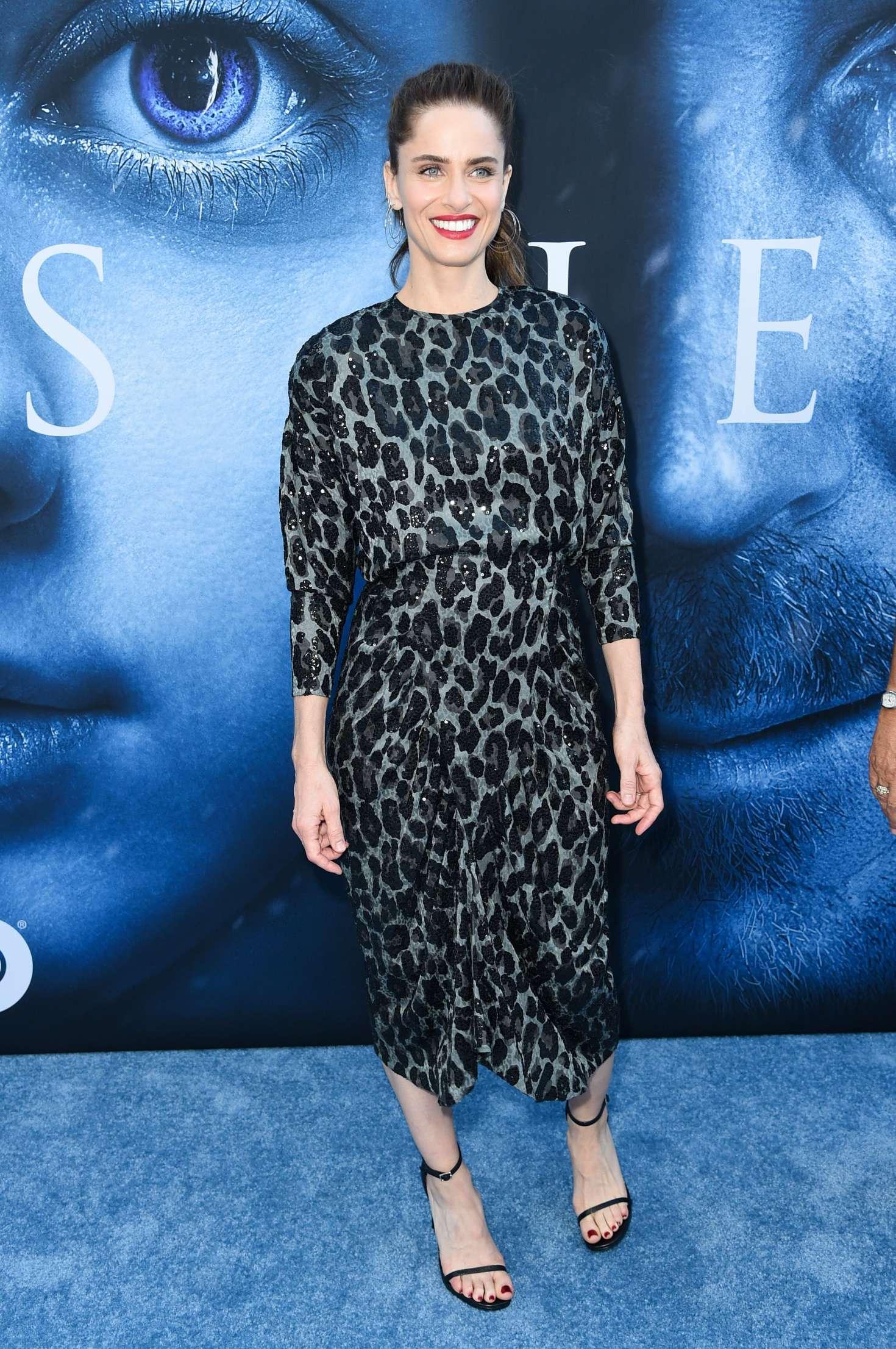 Amanda Peet: Game Of Thrones Season 7 Premiere -06 | GotCeleb