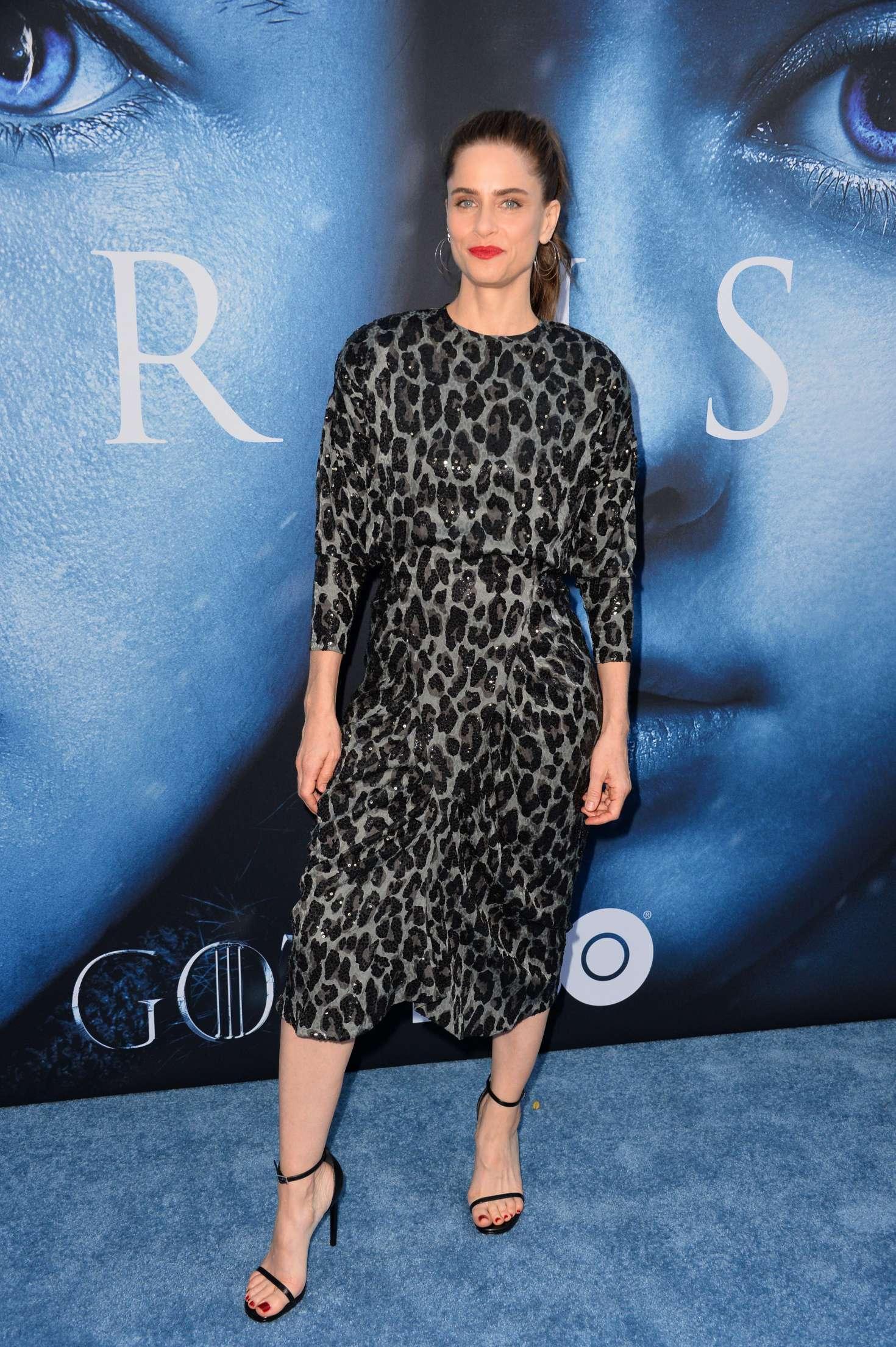 Amanda Peet: Game Of Thrones Season 7 Premiere -10 | GotCeleb