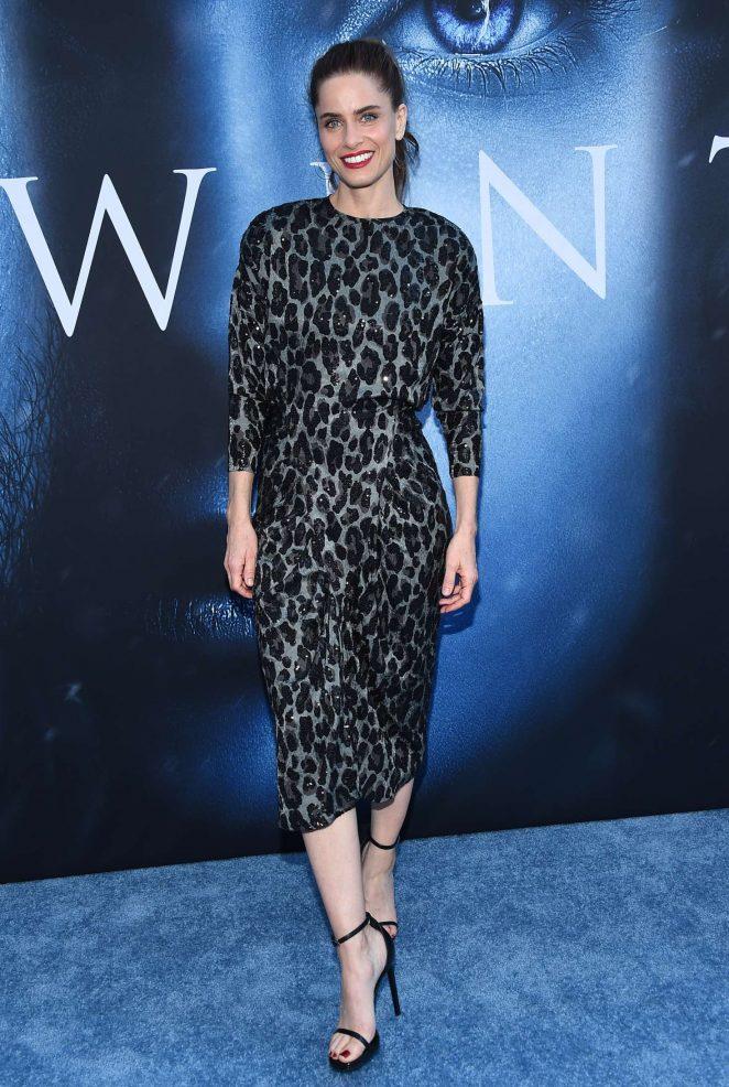 Amanda Peet - 'Game Of Thrones' Season 7 Premiere in Los Angeles