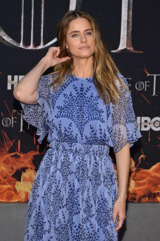 Amanda Peet - 'Game of Thrones' Season 8 Premiere in New York
