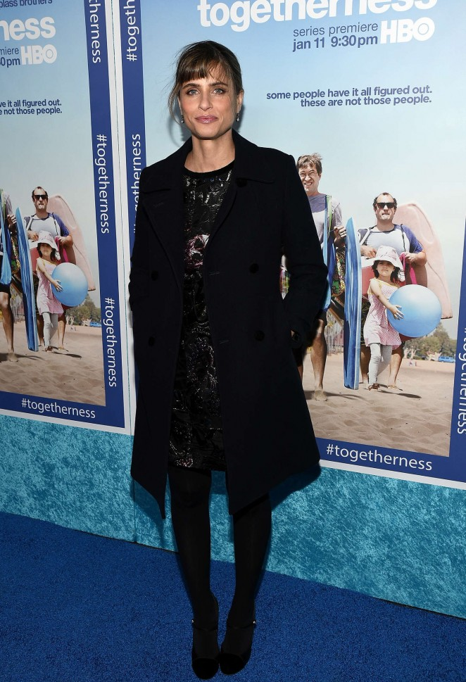 """Amanda Peet – HBO's """"Togetherness"""" Premiere in Hollywood"""