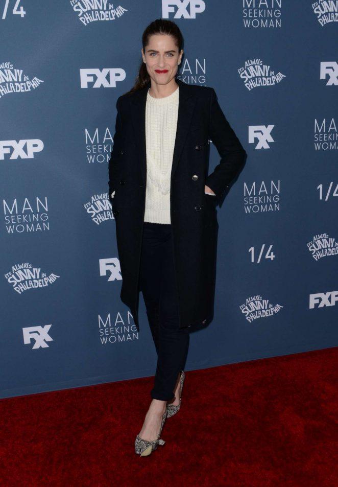 Amanda Peet - 'Its Always Sunny in Philadelphia' Premiere in Westwood