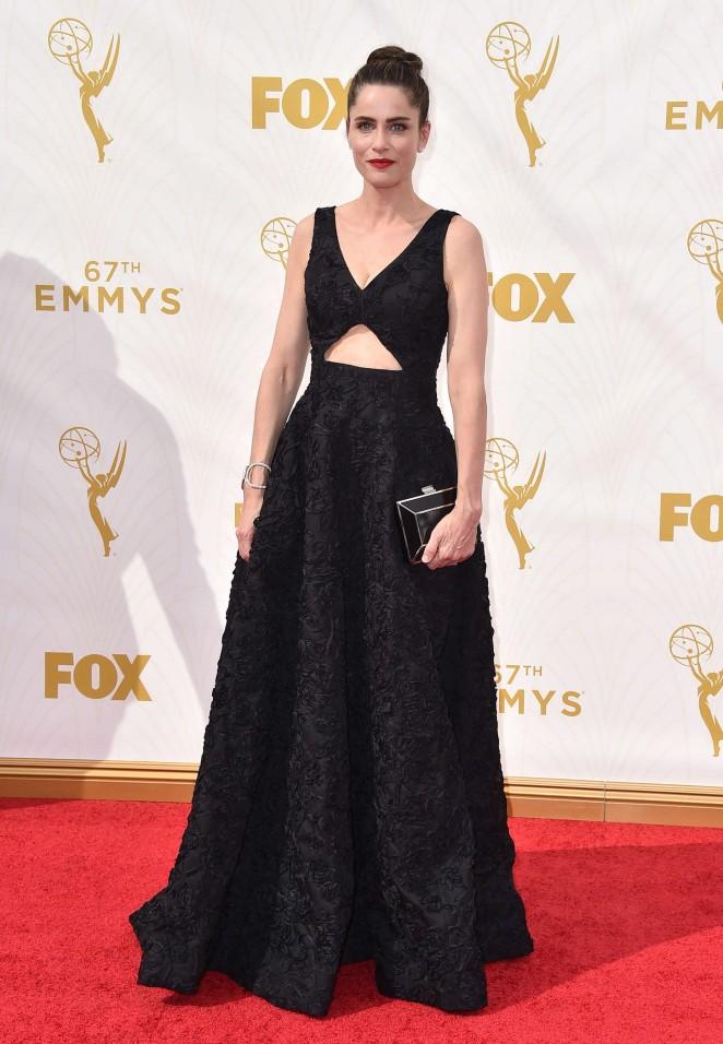 Amanda Peet - 2015 Primetime Emmy Awards in LA