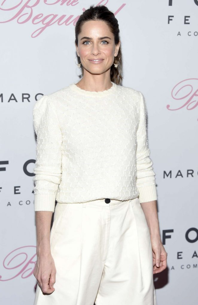Amanda Peet - 'The Beguiled' Premiere in New York