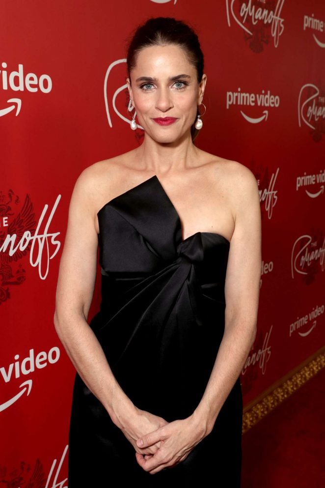 Amanda Peet – 'The Romanoffs' TV Show Premiere in New York