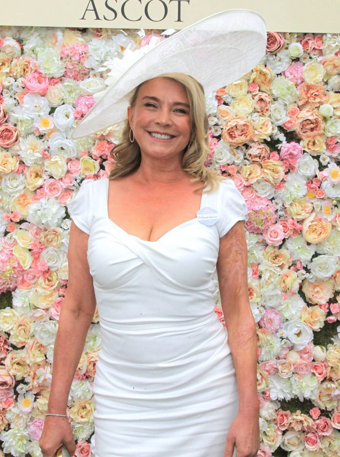 Amanda Redman - Day 5 of Royal Ascot at Ascot Racecourse in Ascot