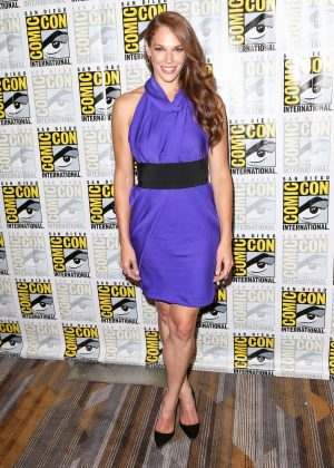 Amanda Righetti - 'Colony' Press Line San Diego Comic-Con