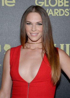Amanda Righetti - HFPA And InStyle Celebrate The 2016 Golden Globe Award Season in West Hollywood