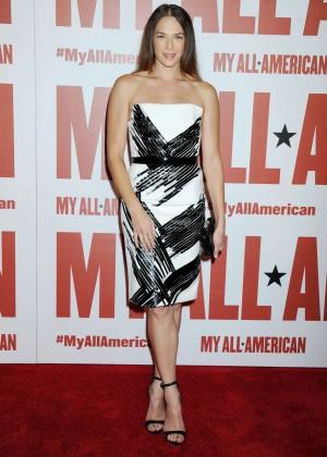 Amanda Righetti - 'My All American' Premiere in LA