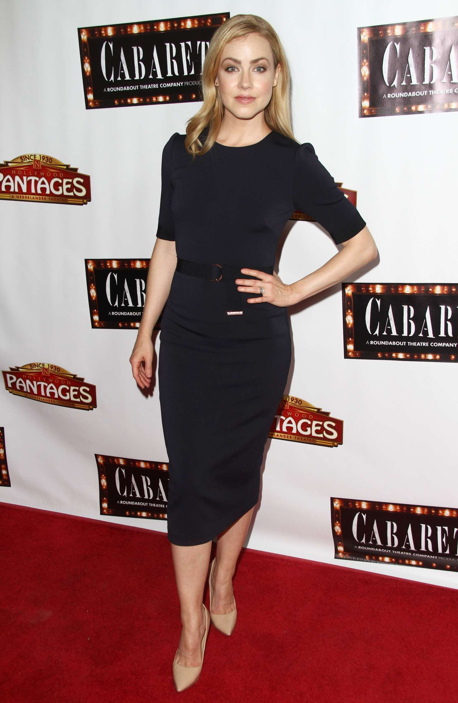 Amanda Schull - Play opening of CABARET in Hollywood