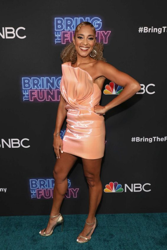 Amanda Seales - 'Bring the Funny' Premiere Event in Los Angeles