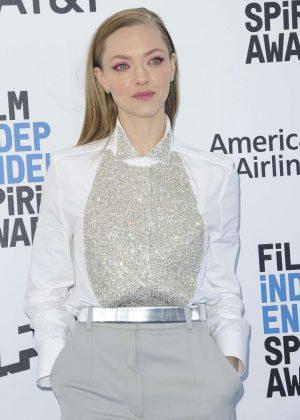 Amanda Seyfried - 2019 Film Independent Spirit Awards in Santa Monica
