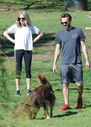 Amanda Seyfried  and boyfriend Thomas Sadosk out in West Hollywood
