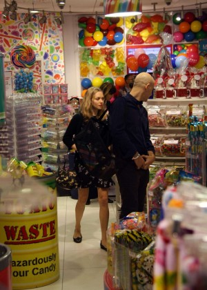 Amanda Seyfried at The Candy Store in West Hollywood