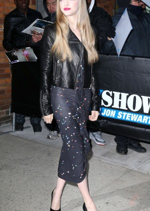 Amanda Seyfried at 'The Daily Show' in NYC