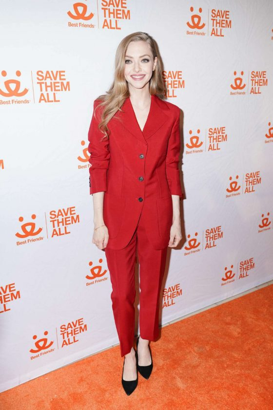 Amanda Seyfried: Best Friends Animal Society Benefit To Save Them All -01