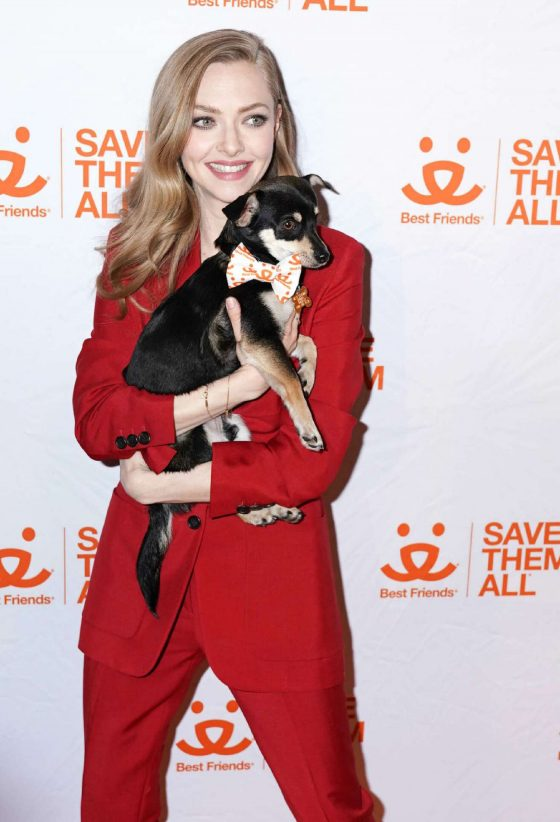 Amanda Seyfried - Best Friends Animal Society Benefit To Save Them All in NY