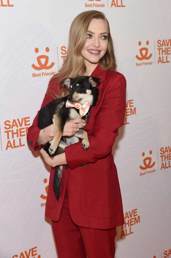 Amanda Seyfried: Best Friends Animal Society Benefit To Save Them All -11