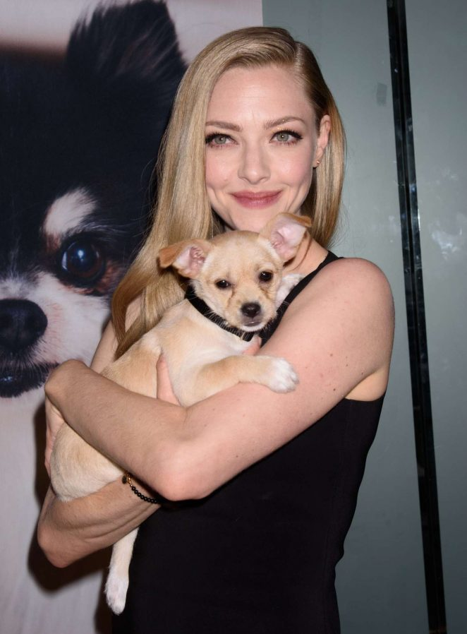 Amanda Seyfried – Best Friends Animal Society's Save Them All Gala in NYC