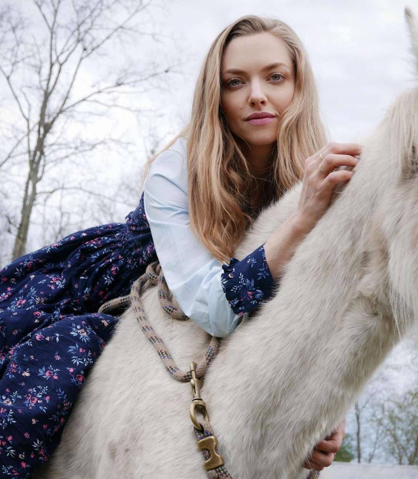 Amanda Seyfried by Sasha O'Neill Photoshoot 2019