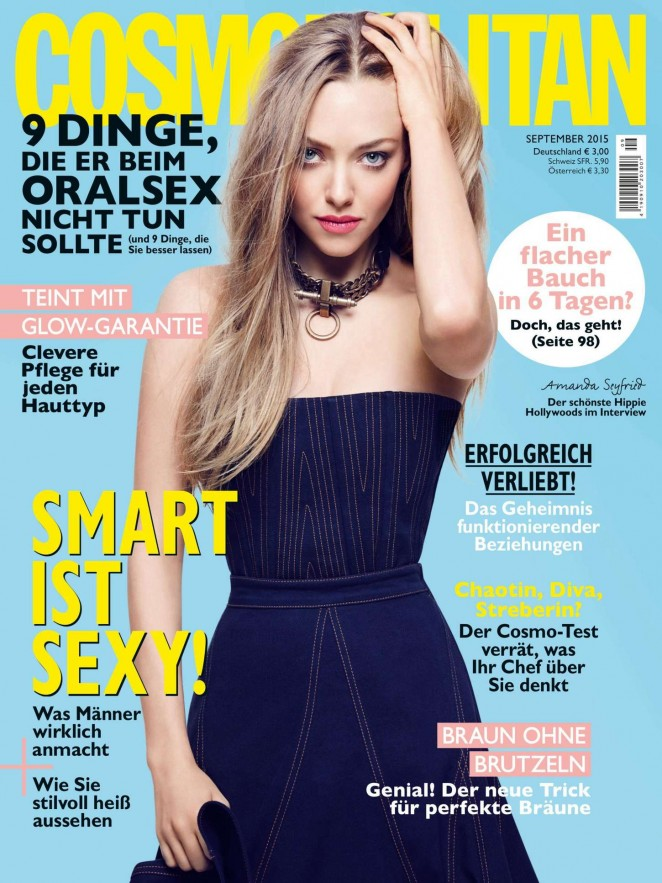 Amanda Seyfried - Cosmopolitan Germany Magazine (September 2015)