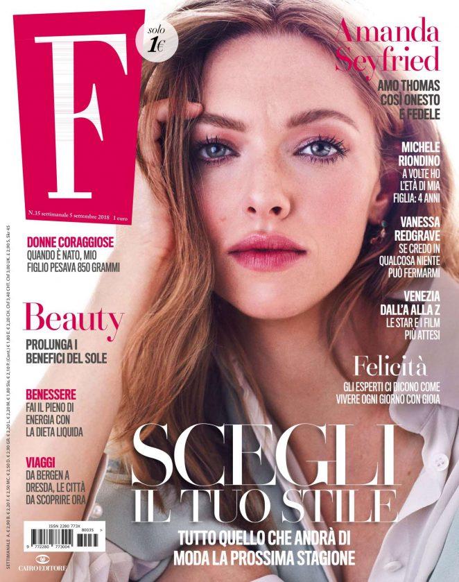 Amanda Seyfried - F Magazine (September 2018)