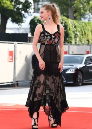Amanda Seyfried - First Reformed red carpet at 2017 Venice Festival