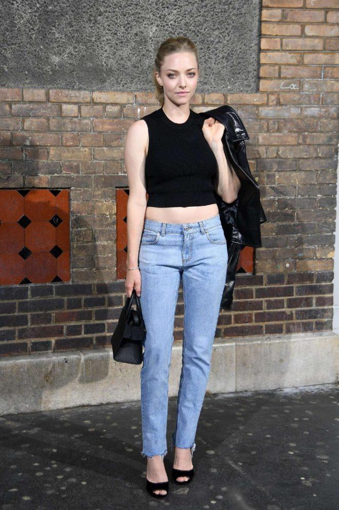 Amanda Seyfried - Givenchy Front Row 2016 in Paris