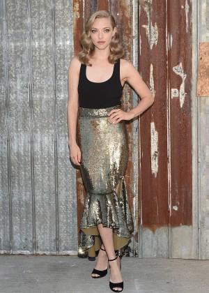 Amanda Seyfried - Givenchy Spring 2016 Fashion Show in NYC