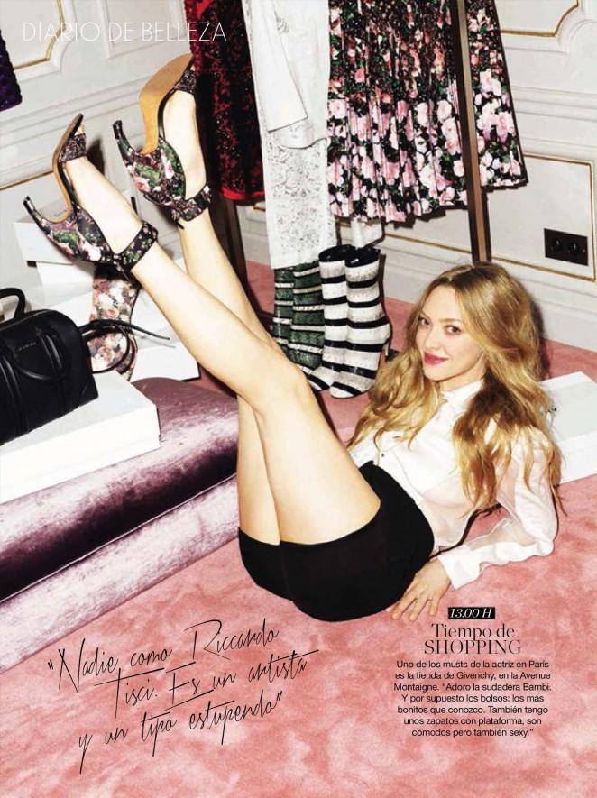 Amanda Seyfried - Glamour Spain Magazine (May 2015)