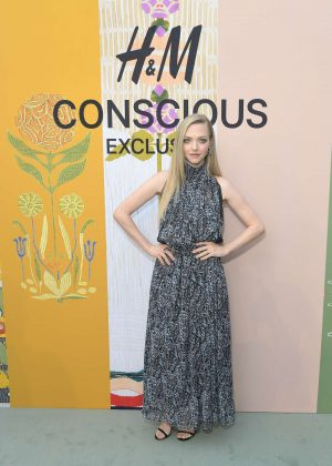 Amanda Seyfried - H M Celebration of 2018 Conscious Exclusive collection in Los Angeles