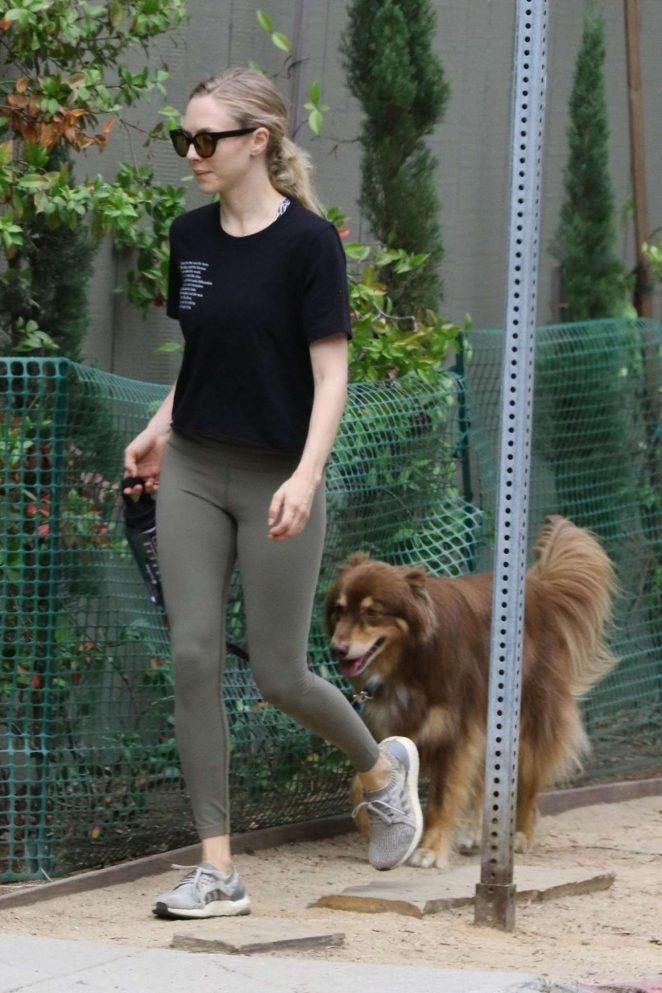 Amanda Seyfried - Hiking Candids In Los Angeles