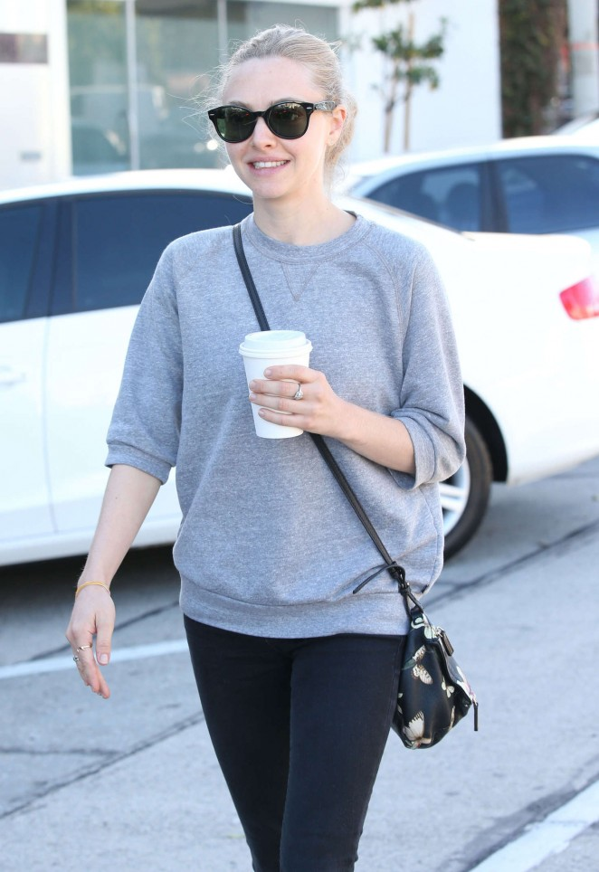 Amanda Seyfried in Tight Jeans Out in West Hollywood