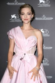 Amanda Seyfried - Jaeger-LeCoultre Gala Dinner at 2019 Venice Film Festival