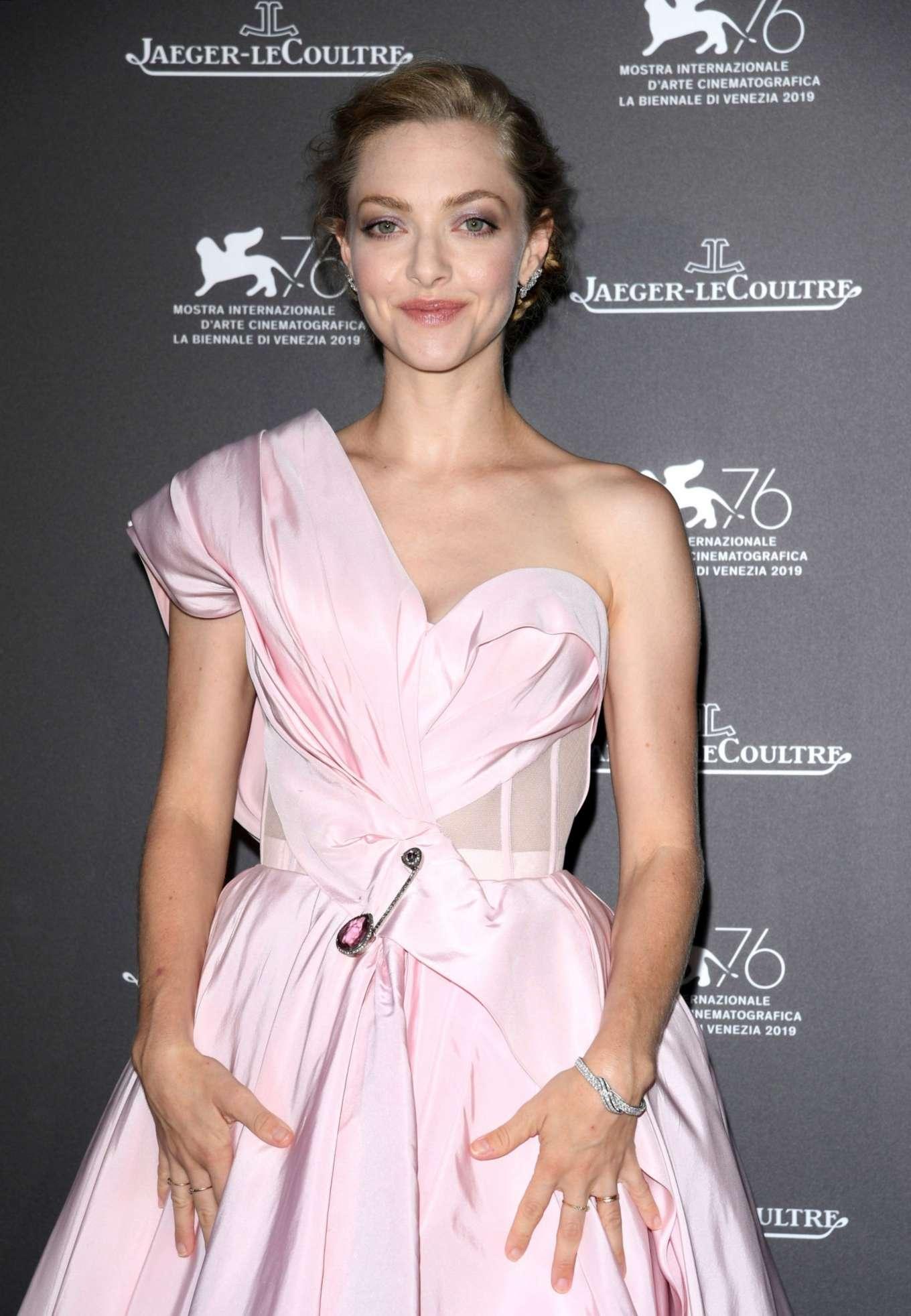Amanda Seyfried - Jaeger-LeCoultre Gala Dinner at 2019 Venice Film Festival