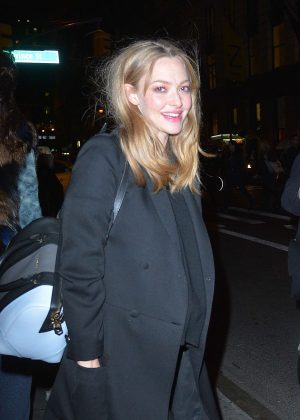 Amanda Seyfried - Leaving a Photoshoot in New York