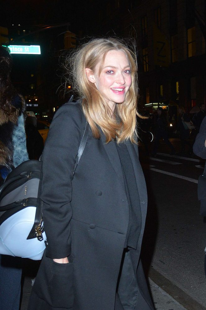 Amanda Seyfried – Leaving a Photoshoot in New York