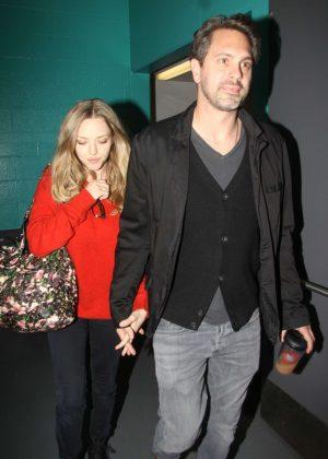 Amanda Seyfried - Leaving the Mark Taper Forum in Los Angeles