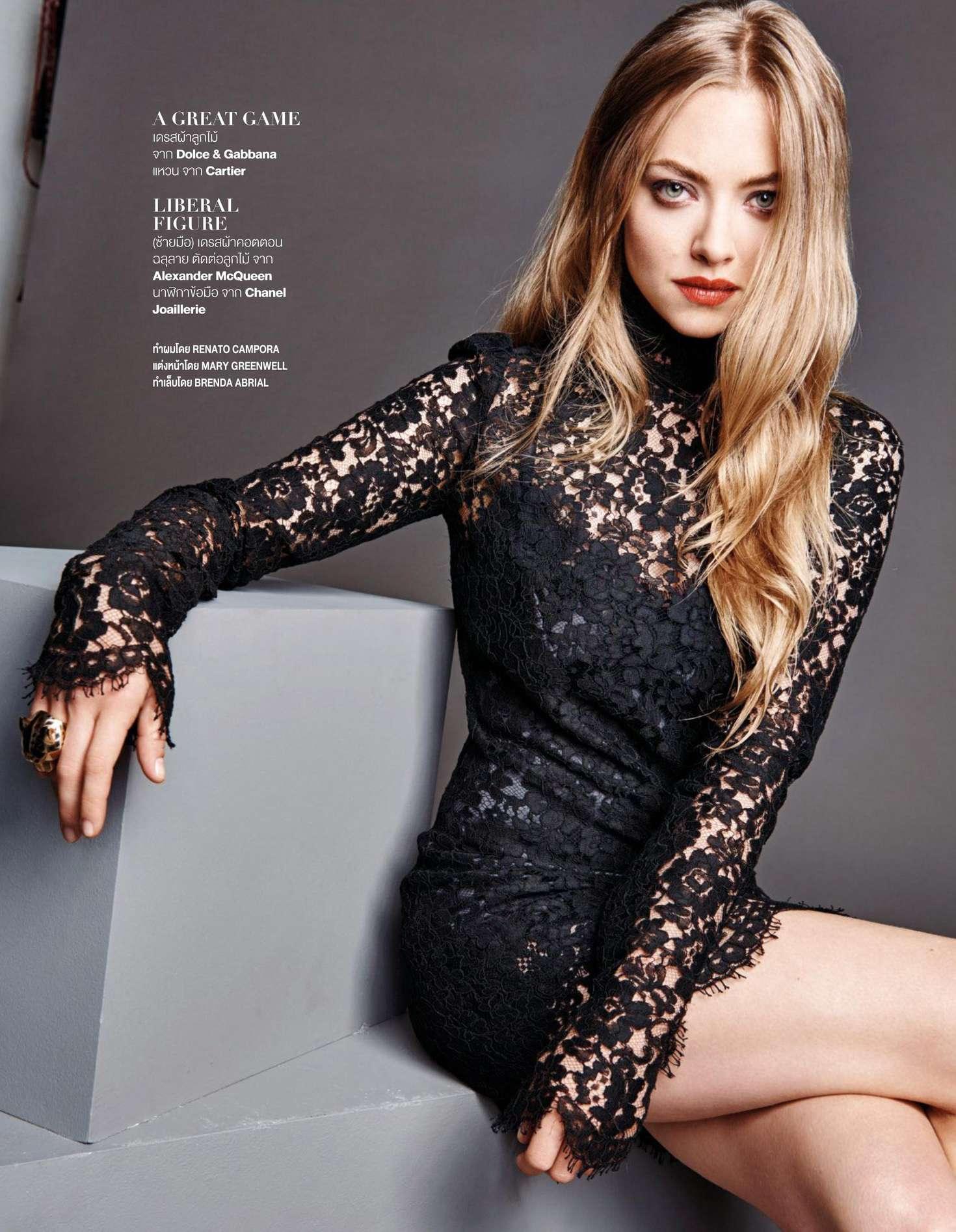 Amanda Seyfried - Madame Figaro Thailand (April 2016)