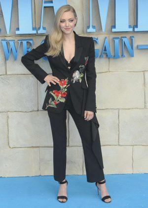 Amanda Seyfried - 'Mamma Mia! Here We Go Again' Premiere in London